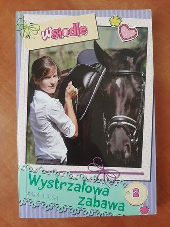 """Książka dla młodzieży """"Wystrzałowa zabawa"""""""