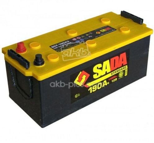 Вантажні Акумулятятори SADA STANDARD 6СТ-190-220 (-/+)