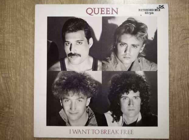 Płyty winylowe Queen I want to break free 12 Maxi single