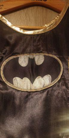 Kostium karnawałowy strój Batmanka MASKA 128-134