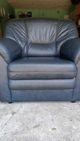 Fotele skórzane (2 szt.)