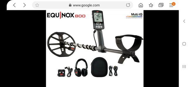 Металошукач Minelab Equinox 800+Пінпоінтер XP Deus MI4+лопата Fiskars
