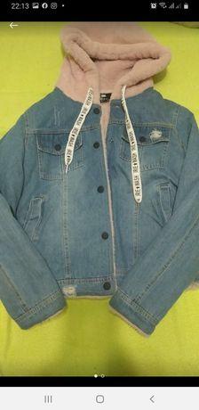 джинсовая куртка  осенняя