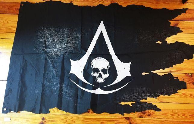 FLAGA PIRACKA Assasin's Creed IV Black Flag Unikat okazja