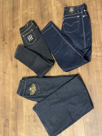 Versace manuel luciano джинсы