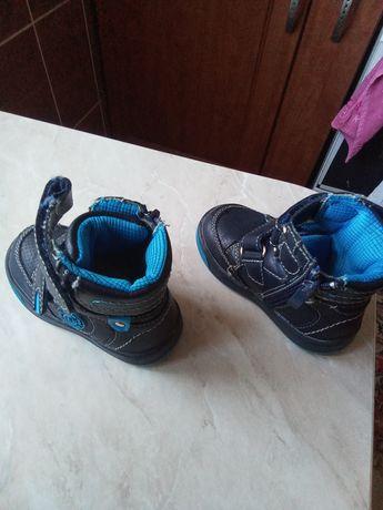 Ботинки осенние на мальчика