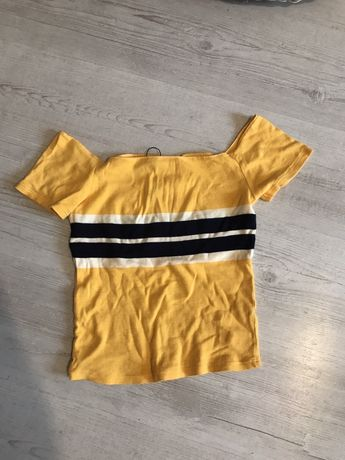 Bluzka tshirt bershka s