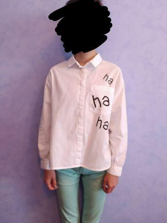 Белая рубашка  Zara kids
