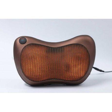 Массажер, массажная подушка для дома Massage pillow CHM-8028 8 РОЛИКОВ