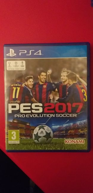 PES 2017 PS4 Pro Evolution Soccer
