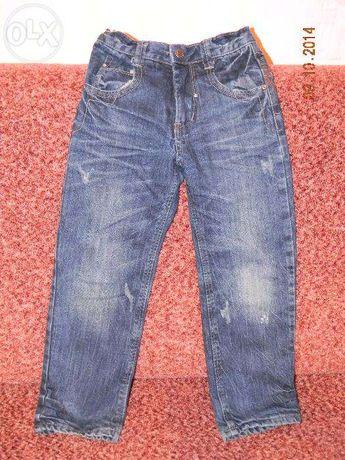 Моднявые джинсы на флисе