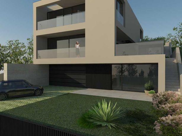 Terreno 800m2 com projeto aprovado para construção de moradia