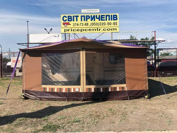 Прокат прицепа-дача-караван