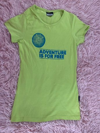 T-shirt / koszulka - HI-TEC - neonowy zielony - HIT!