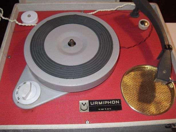 Gira discos Lenco - Urmiphon Fabrico - Suíço Anos 70