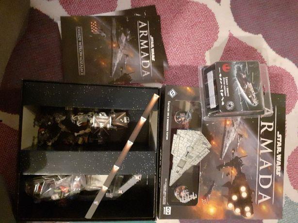 Star Wars Armada PL + dodatek Łowcy i Bandyci gra planszowa