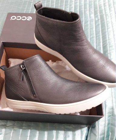 ЦЕНА НА ДВА ДНЯ! Новые ECCO кожаные ботинки ОРИГИНАЛ