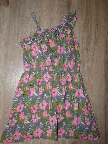 Letnia sukienka dziewczęca w rozm. 128
