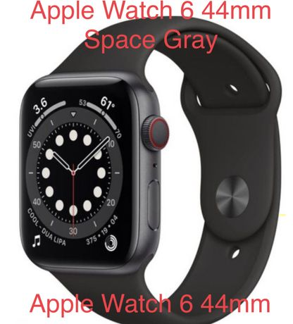Apple Watch 6 44mm Space Gray Nowy