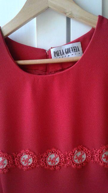 Vestido vermelho tam.36