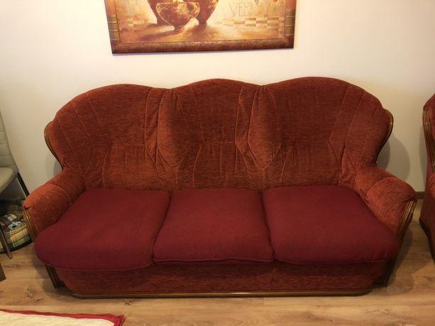 Sofa 3 os 2 os i fotel