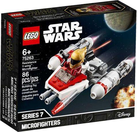 Lego Star Wars 75263 Истребитель Сопротивления типа Y. В наличии
