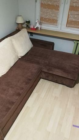 Narożnik, łóżko, dwu częściowy