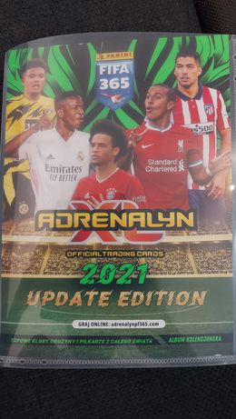Fifa 365 Adrenalyn 2021 UPDATE EDITION 9.03.2021r.