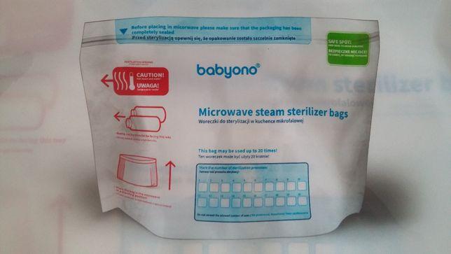 Nowe woreczki do sterylizacji w kuchence mikrofalowej BabyOno