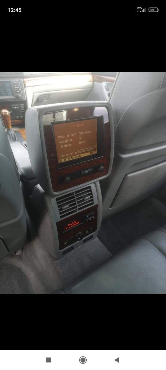 Fond monitor plus 3 strefa klimatyzacji szary BMW e38 rarytas