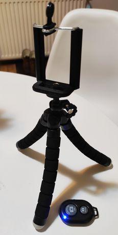 Statyw ośmiornica trójnóg Bluetooth pilot do Kamera sportowa/Smartfon