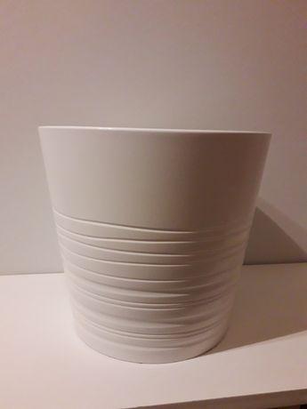 Vaso branco grande