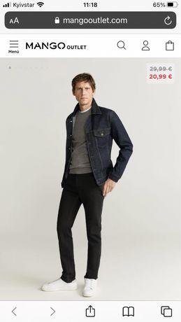 Mango штаны, мужские скини, приталенные брюки, штани