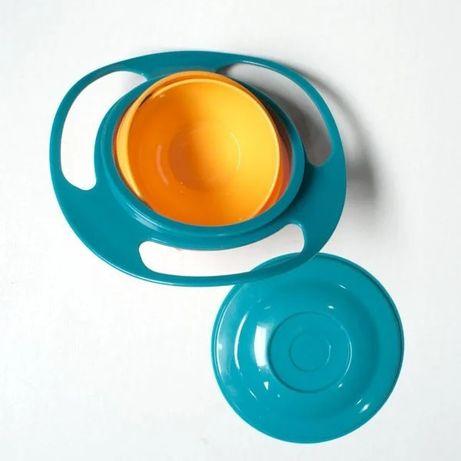 Детская тарелка-неваляшка Universal Gyro Bowl