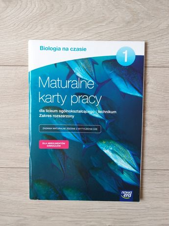Maturalne karty pracy 1 biologia
