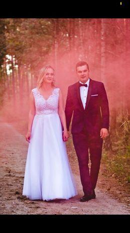 Suknia ślubna + DODATKI!