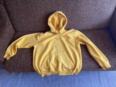 Худи, толстовка, кофта с капюшоном Желтая М-L. Фирма H&M (Ейчендем)