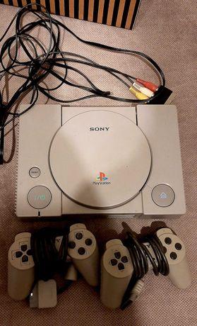 PlayStation 1 generacja z padami i grami