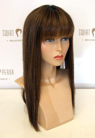 Peruka długa z włosa syntetycznego Pińczów