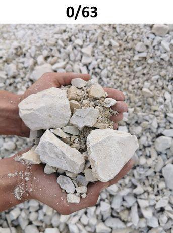 Włoszczowa - Kamień pod kostkę Kruszywo drogowe Wapno Grys