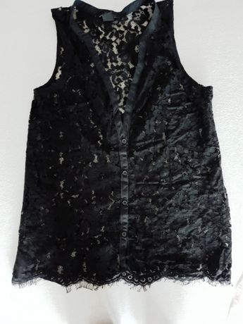 Koronkowa bluzka damską H&M