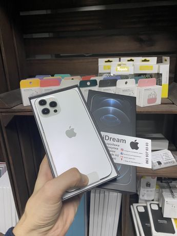Apple iPhone 12 Pro Max 128,256,512 gb Silver (Гарантия, магазин)