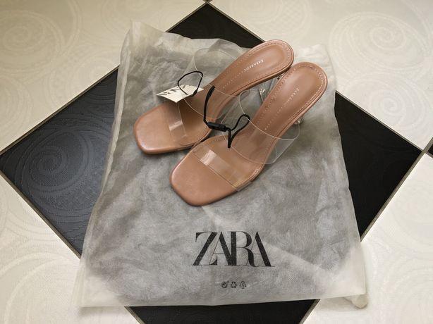 Zara мюлі шльопанці босоніжки