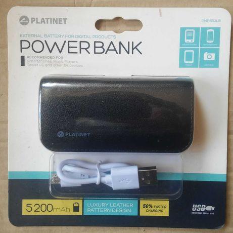 Nowy powerbank Platinet do smartfona, tabletu etc. przenośna ładowarka