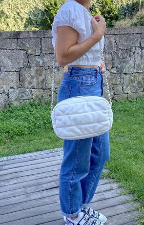 Mala / bolsa / carteira branca Zara