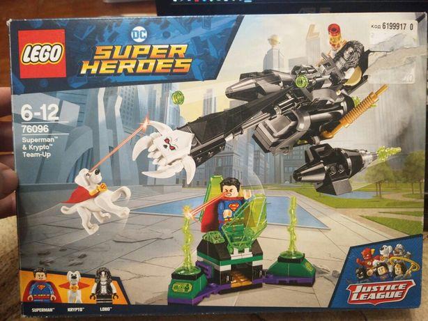 LEGO Super Heroes DC Comics Команда Супермена и Крипто 199 деталей