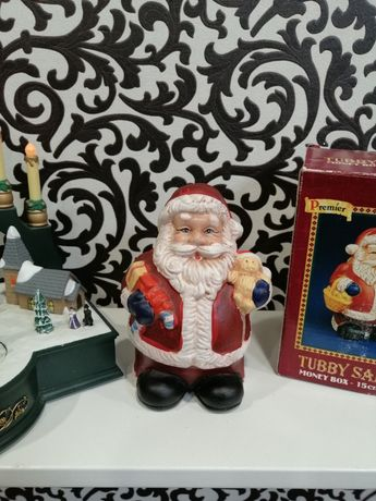 Копилка Санта Клаус Новогодний