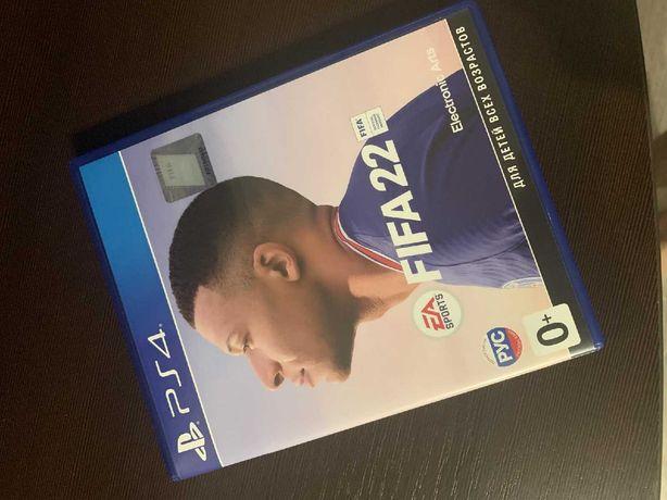 Игра FIFA 22 для PS4