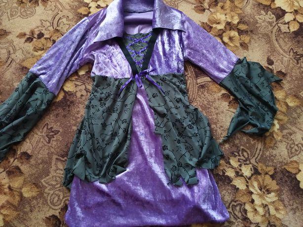 Платье ведьмы. Карнавальный костюм