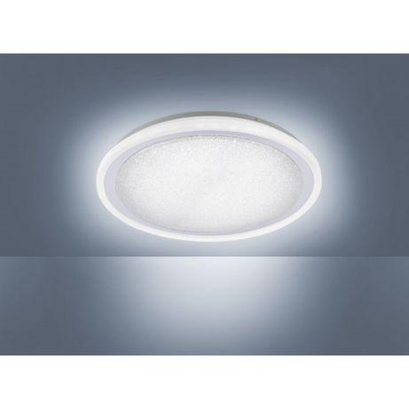 Elegancki plafon ciepłe/zimne 40 cm śr MEDINA LED pilot